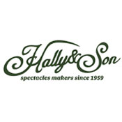 Logo Hally and Son gafas